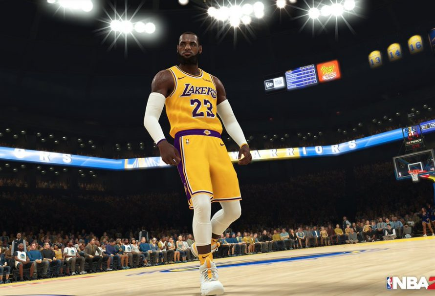 brand new e6bf9 64d56 New NBA 2K19 Screenshot Shows LeBron James In LA Lakers Gear ...