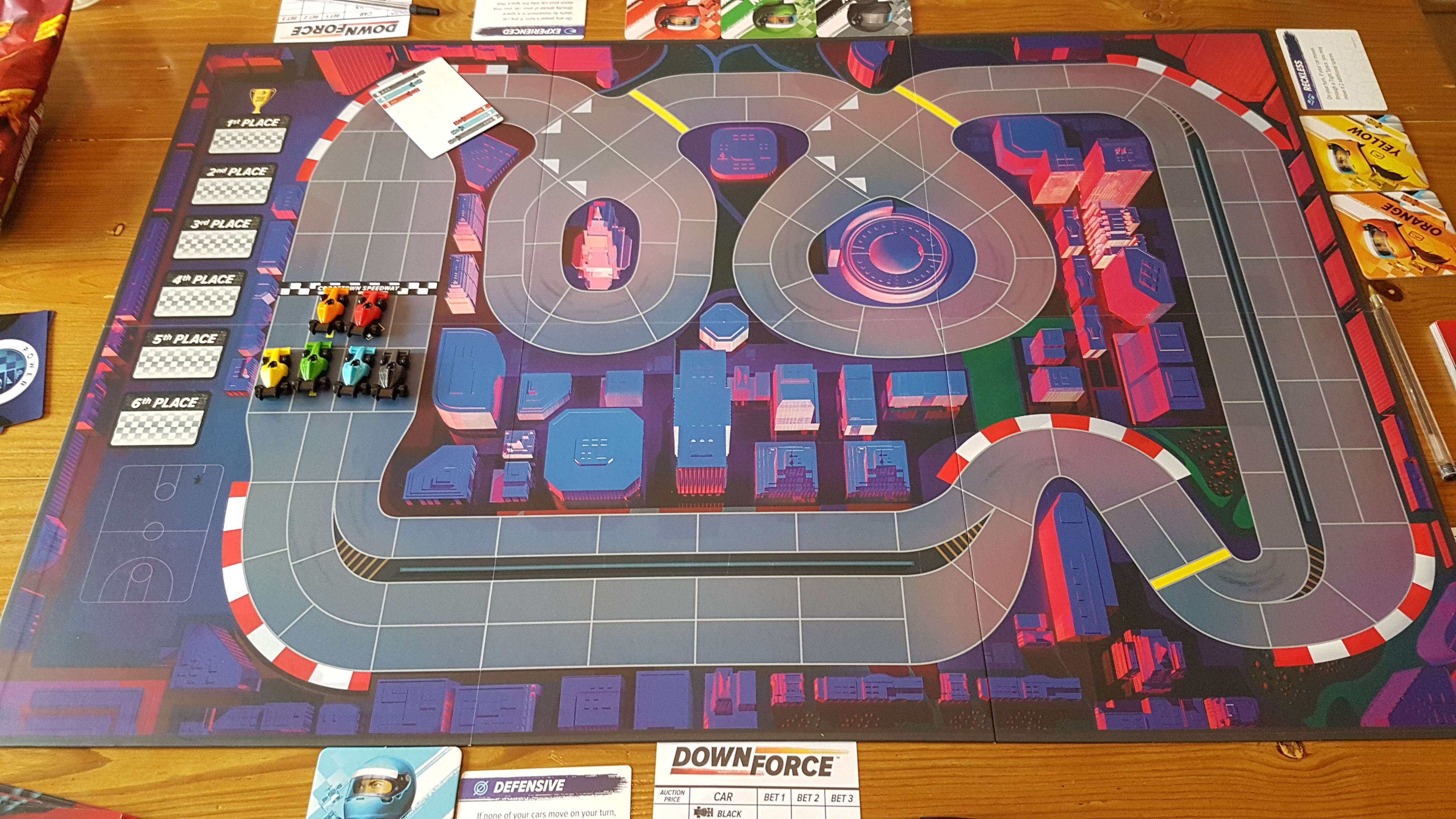 Downforce Danger Circuit Review - A Brilliant Excuse For