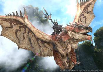 Final Fantasy XIV x Monster Hunter World crossover now live