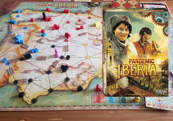 Pandemic Iberia Review - Railway Past The Original