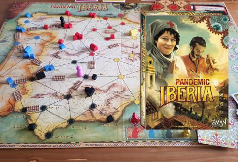Pandemic Iberia Review - Railway Past The Original