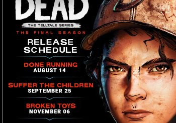 The Walking Dead: The Final Season episode release schedule detailed