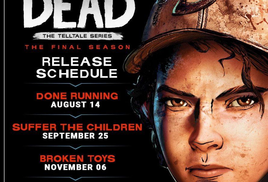 The Walking Dead: The Final Season episode release schedule detailed