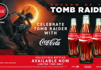 Square Enix And Coca Cola Partner Up For Unique Shadow of the Tomb Raider Promotion