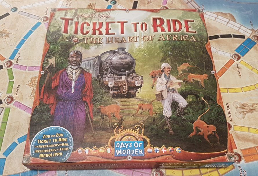 Ticket To Ride Heart Of Africa Review – New Continent, New Mechanics