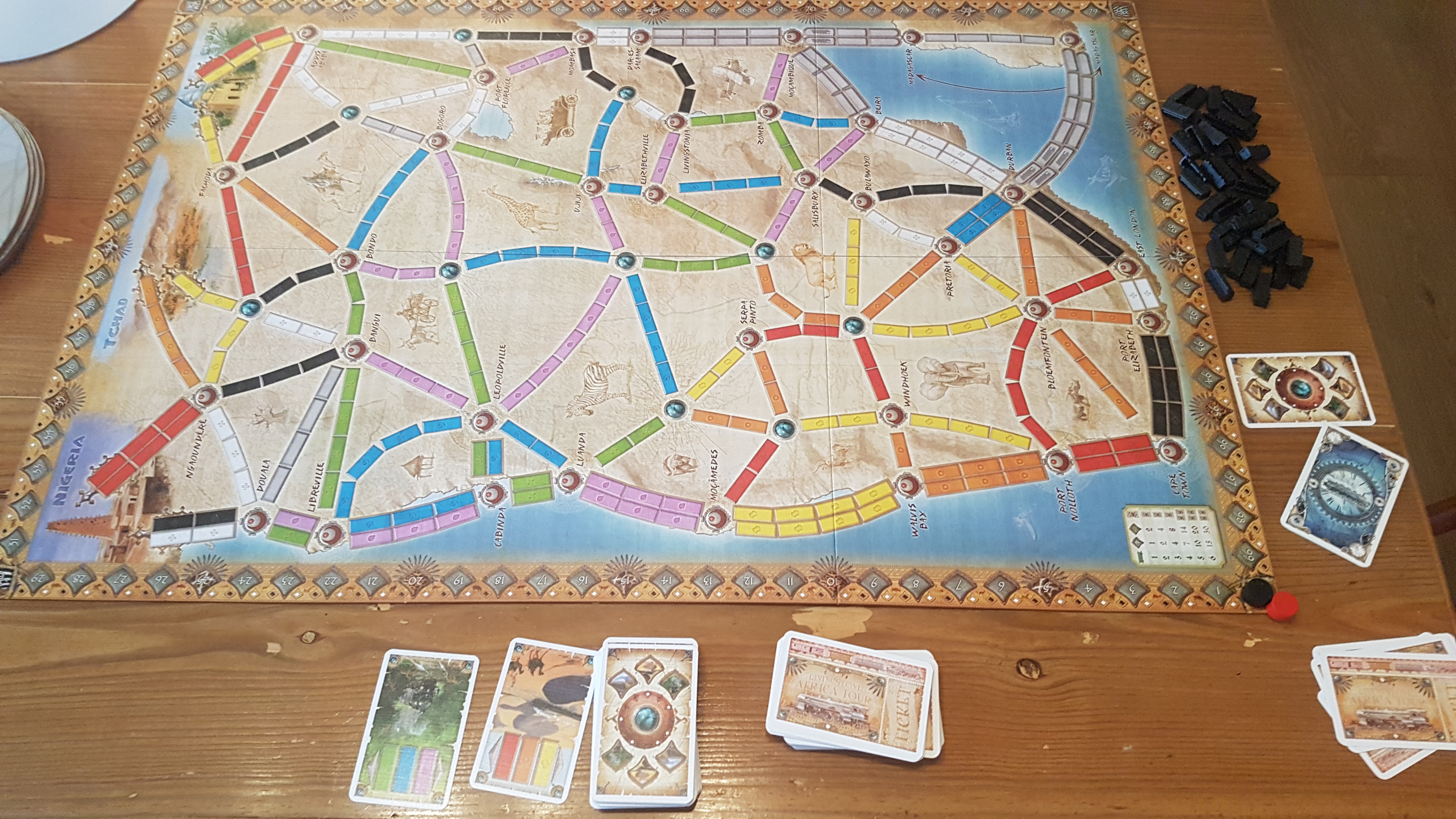 Ticket To Ride Of Africa Review - New Continent, New ... on map of states game, map of china game, map of canada provinces game, map of north america game, map of african countries 2012, map of south america game, map of world game, united states map game, map of life game, blank africa map game, map of europe game, africa map puzzle game, map of spain game, usa map game,