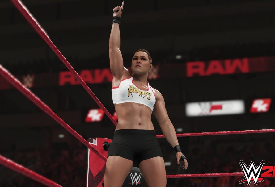 Another New WWE 2K19 Screenshot Shows Ronda Rousey