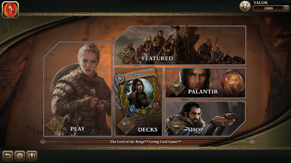 The Lord of the Rings: Living Card Game Out Now On Steam As An Early Access Title