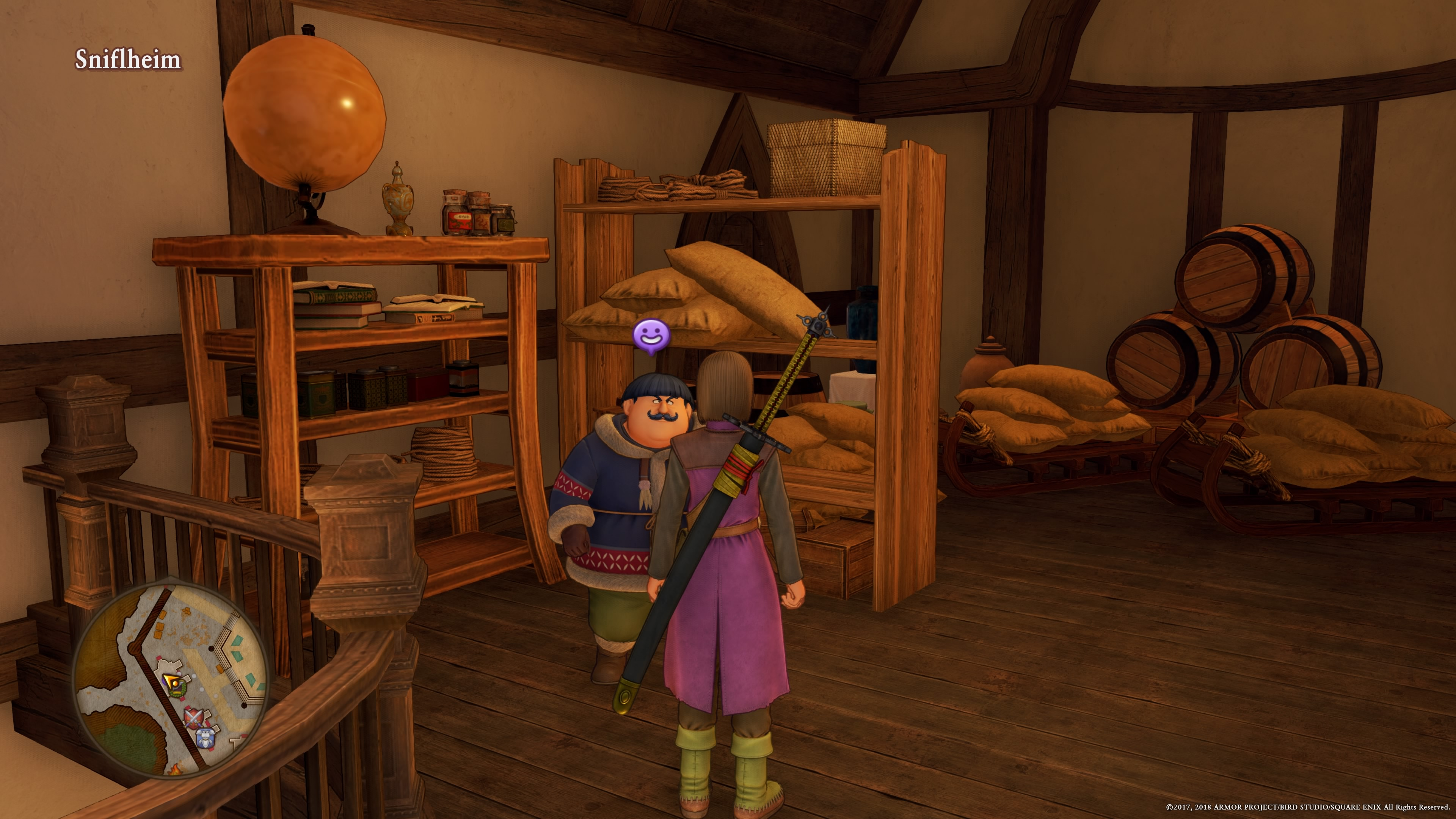 dragon quest 11 xero
