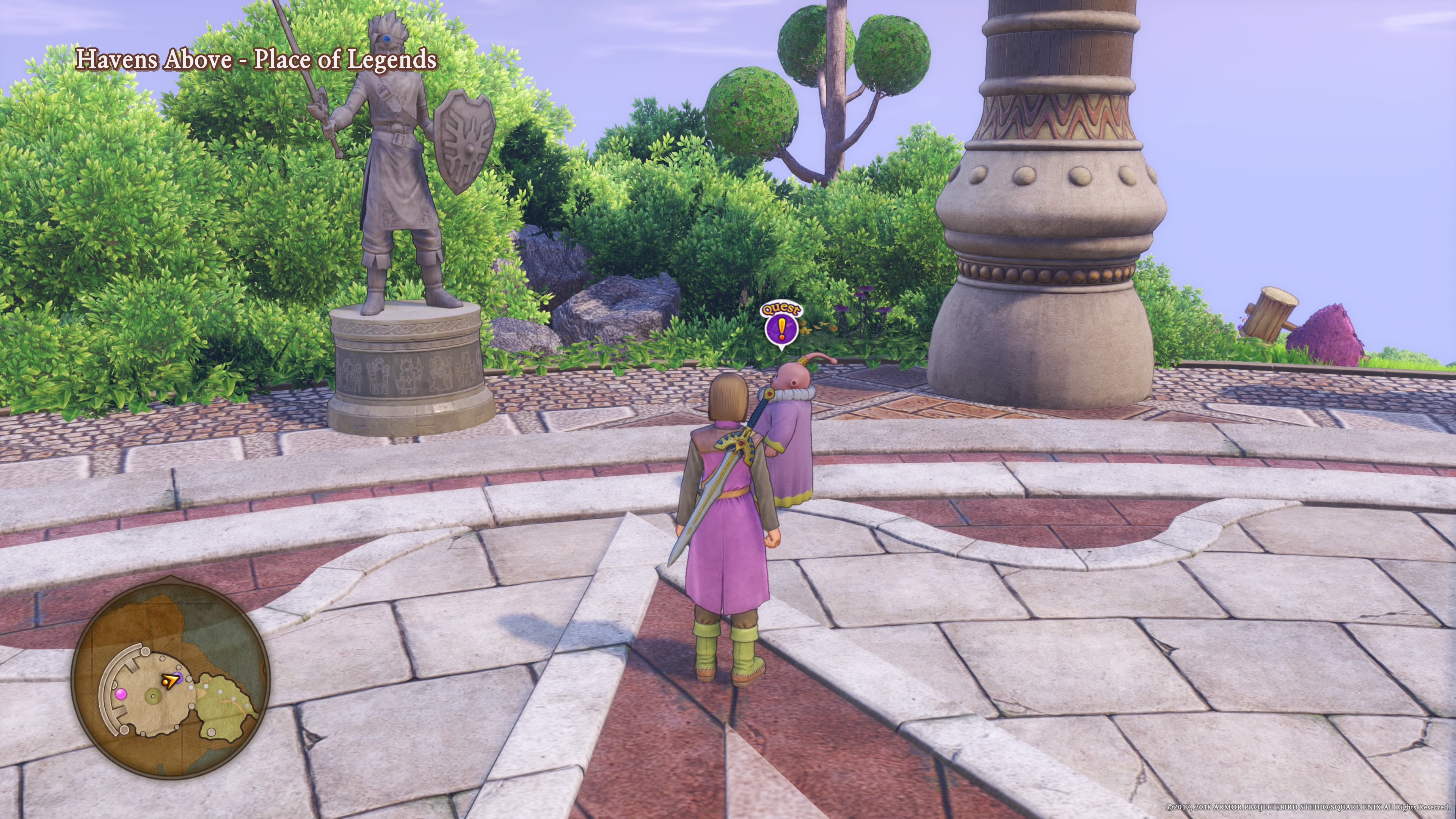 Dragon Quest XI Guide - Quests List (Post-Game) - Just Push
