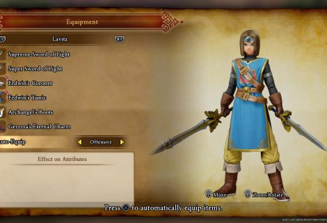 Dragon Quest XI Guide - Costumes / Outfits (Dedicated Follower of Fashion Trophy)