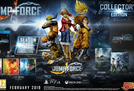 Jump Force Collector's Edition And New Characters Announced
