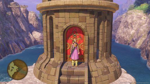 Dragon Quest XI Red Door- Dundrasil Region