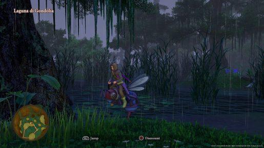 Dragon Quest XI Mount - Midnight Horknight