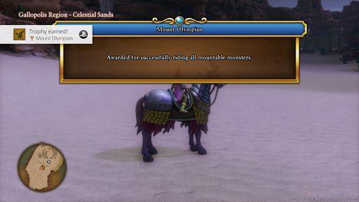 Dragon Quest XI Trophy - Mount Olympian