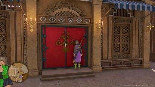 Dragon Quest XI Red Door - Gallopolis City