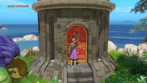 Dragon Quest XI Red Door - Insula Occidentalis