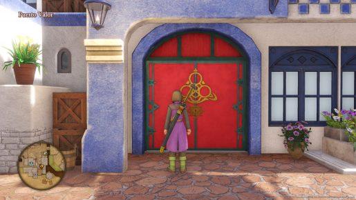 Dragon Quest XI Red Door - Puerto Valor