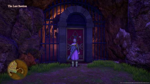 Dragon Quest XI Red Door - The Last Bastion