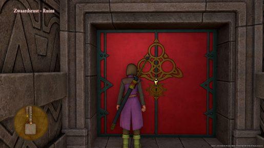 Dragon Quest XI Red Door - Zwaardsrust Ruins
