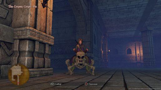 Dragon Quest XI Mount - Skullrider's Steed