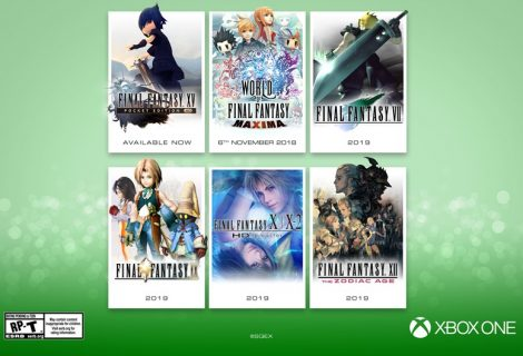 Six Final Fantasy games are coming to Xbox One