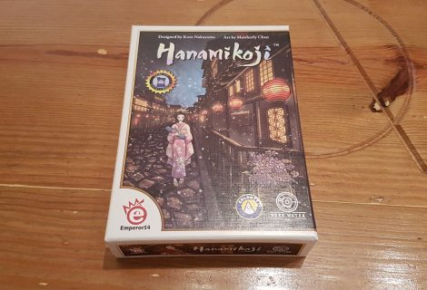 Hanamikoji Review - A Great Geisha Game!