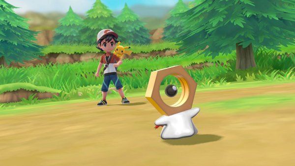 Pokemon: Let's Go, Pikachu! and Let's Go, Eevee! reveals the new Mythical Pokemon Meltan
