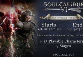 Soulcalibur VI network test set for September 28