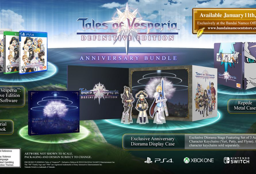 Tales of Vesperia: Definitive Edition limited editions announced for North America and Europe