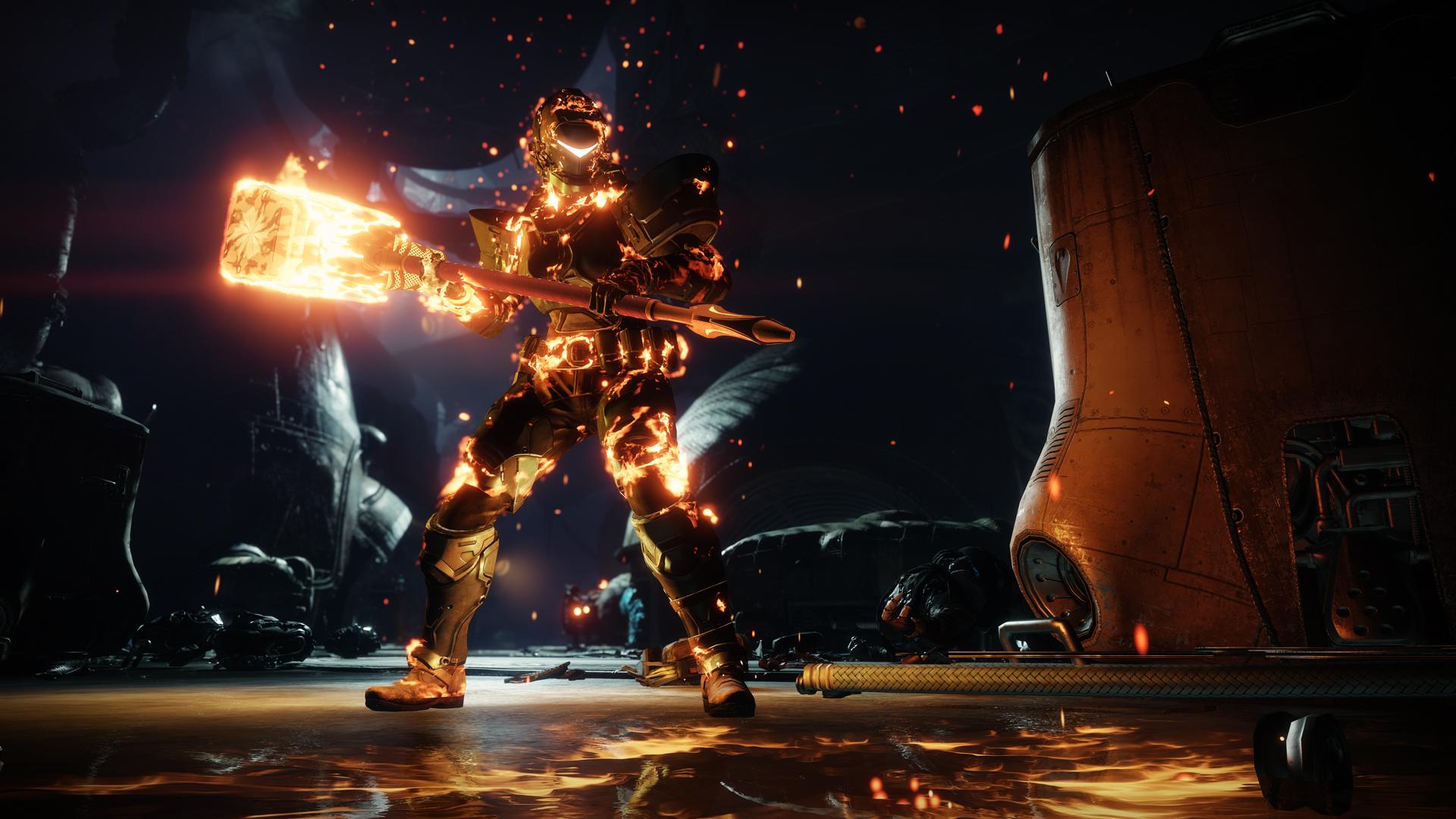 Destiny 2 Forsaken Review Just Push Start