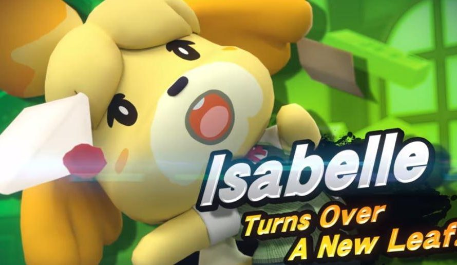Super Smash Bros. Ultimate Nintendo Switch Bundle Revealed; Isabelle Confirmed Playable