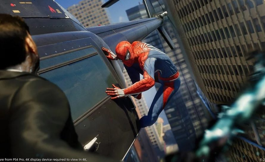 Marvel's Spider-Man PS4 Is The Fastest Selling Game In 2018 In The UK