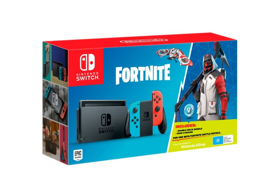 New Fortnite Nintendo Switch Bundle Announced With Bonus Content