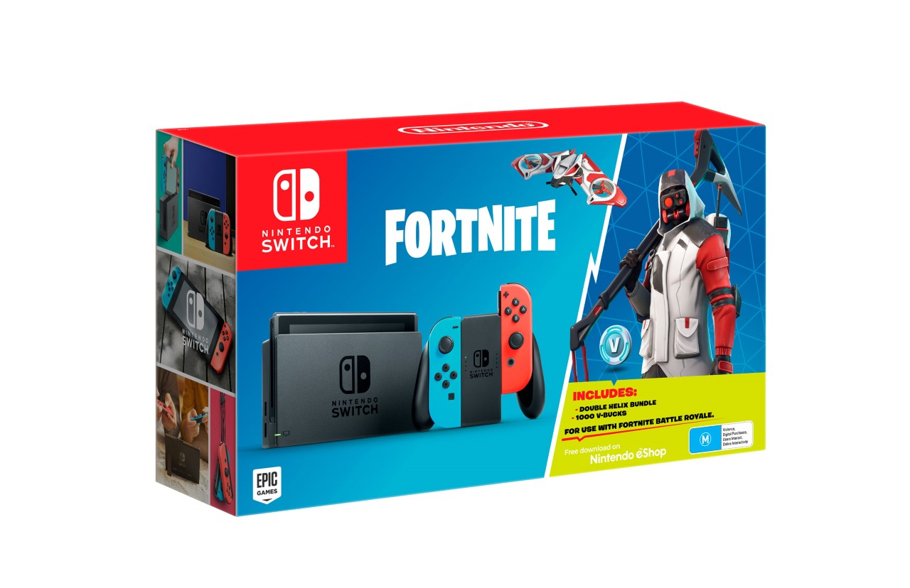 New Fortnite Nintendo Switch Bundle Announced With Bonus