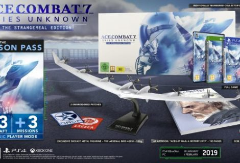 Ace Combat 7 Collector's Edition announced for Europe