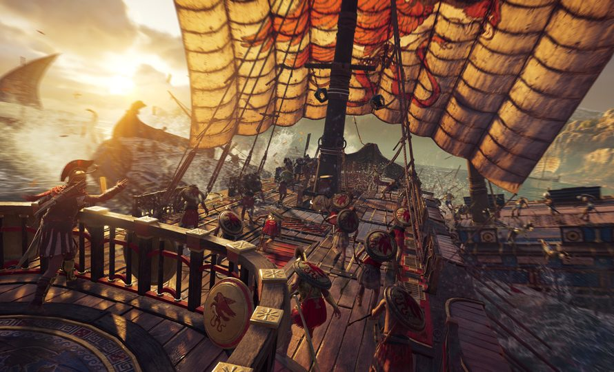Assassin's Creed Odyssey available now for PS4, Xbox One, and PC