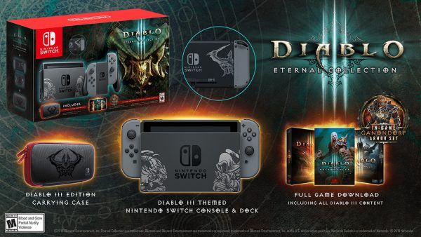 Diablo 3: Eternal Collection Switch Bundle announced