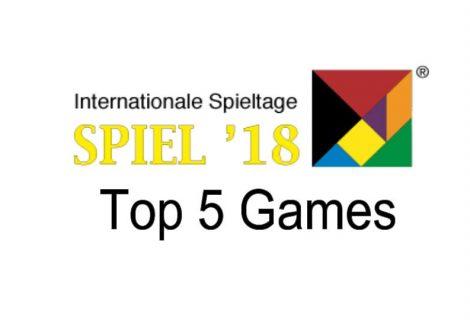 Essen Spiel 2018: Top 5 Board Games