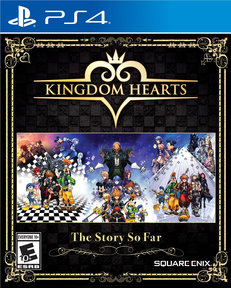 kingdom hearts the story so far announced for playstation. Black Bedroom Furniture Sets. Home Design Ideas