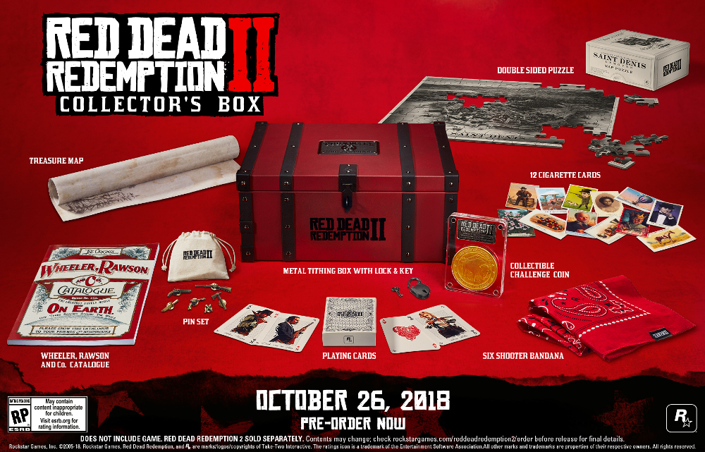 Red Dead Redemption 2 - List of available DLC and Bonus