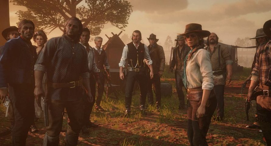 Red Dead Redemption 2 may come in two discs