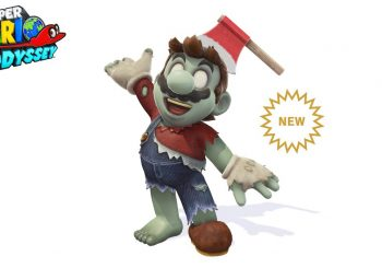 Super Mario Odyssey celebrates Halloween with a new Zombie costume