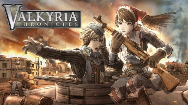Valkyria Chronicles now available on Switch via eShop