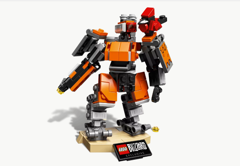 A New Lego Toy Is Coming Based On Overwatch's Bastion Character