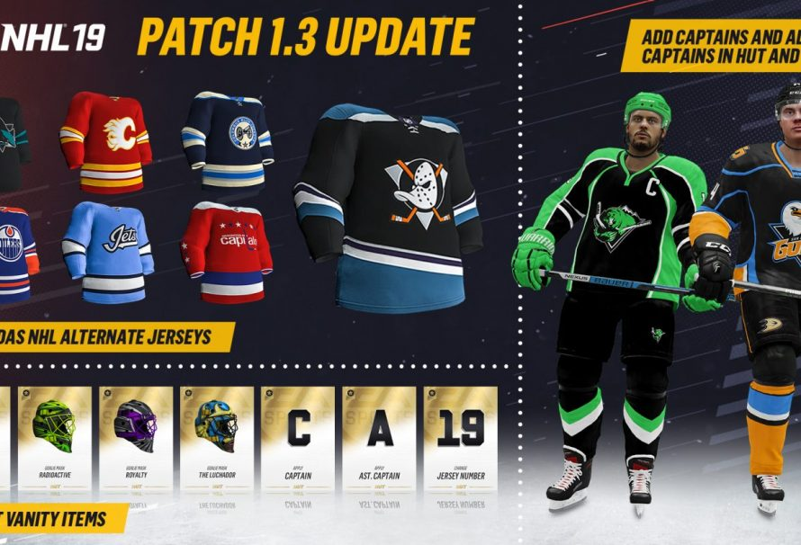 EA Sports Releases NHL 19 1.31 Update Patch Today - Just Push Start 39e030dc7bb