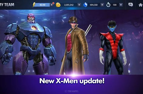 A Huge X-Men Update Has Been Added To Marvel Future Fight