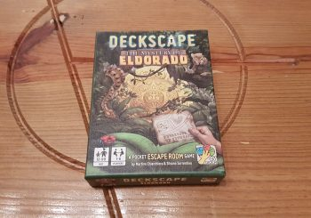 Deckscape The Mystery of Eldorado Review - An Escape Room In A Tiny Box