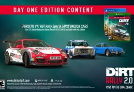 DiRT Rally 2.0 Day One Edition and Pre-Order Bonuses detailed