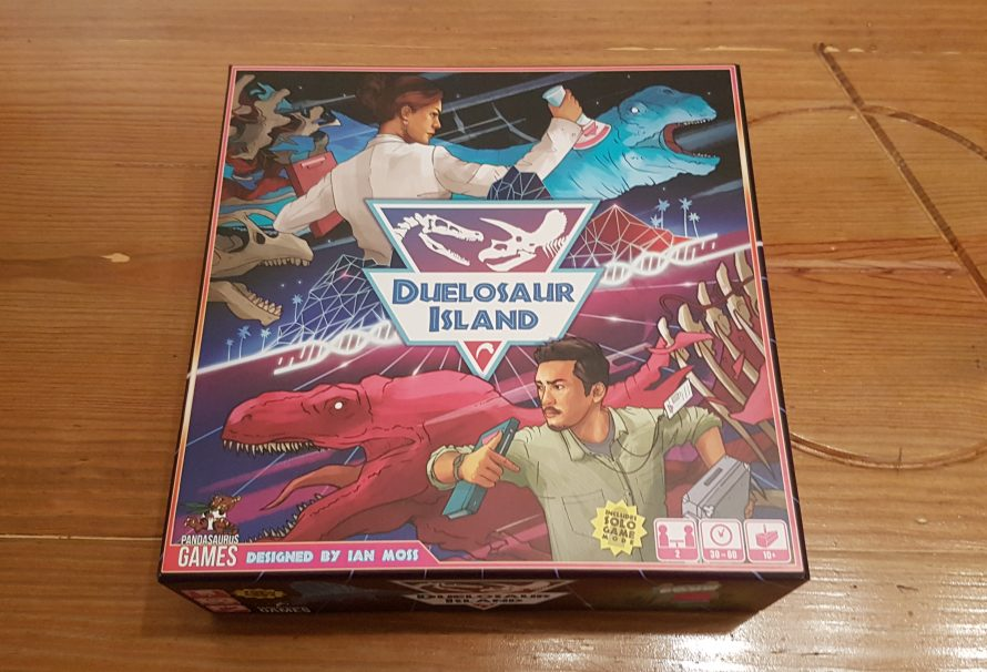 Duelosaur Island Review – 2 Player Dino Park Perfection